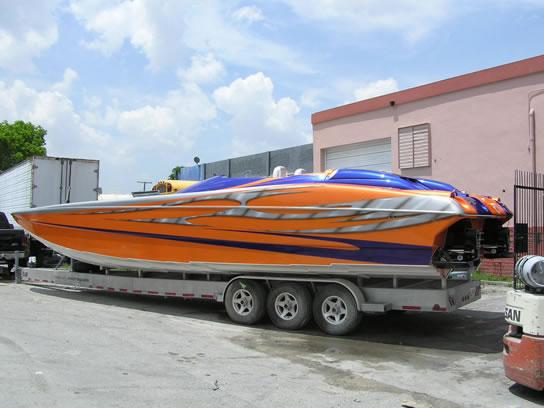 guardado marine paint jobs custom boat painting marine
