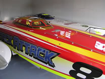 Snack Attack Race Boat